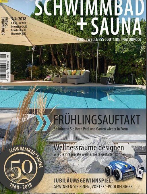 Interview mit Pool & Sauna – Ausgabe 3/4 2018