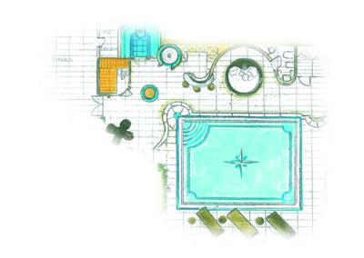 Schwimmbad-Design/Wellness-Design